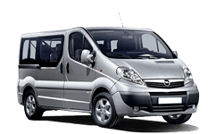 Shuttles 24 - Minivan 8: Private vehicle with capacity for 8 passengers and 8 standard size bags or suitecases.