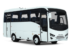 Shuttles 24 - Minicoach 30: Private vehicle with capacity for 30 passengers and 30 standard size bags or suitecases.